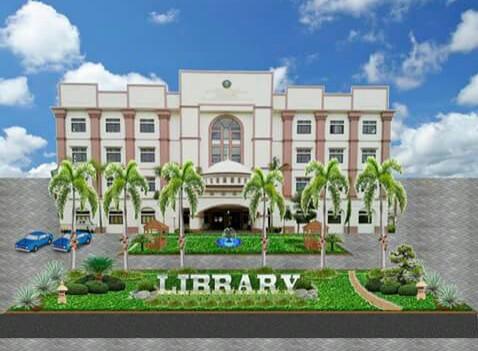 Hasil desain taman perpustakaan UIN Alauddin oleh Mahram Mubarak