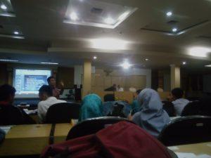 """Himpunan Mahasiswa Bidik Misi (Himabim) usai menggelar pelatihan Bidik Misi. Pelatihan tersbut mengusung tema """"Pelatihan Karya Tulis Ilmiah"""""""